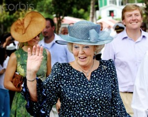 Dutch Royal Family visits  Dutch Caribbean