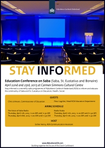 Flyer_StayInformedEducationConference