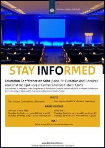 Flyer_StayInformedEducationConference