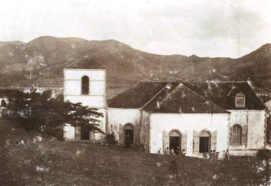 Old Roman Catholic Church in Marigot