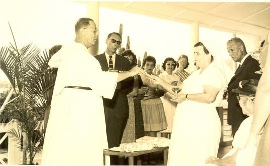 Nurse Angel Cagan's celebration of her 25th anniversary as a Nurse - 1963