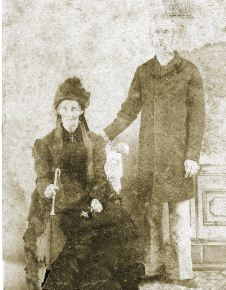 Arthur Valk and his mother Margaret Ann Hodge