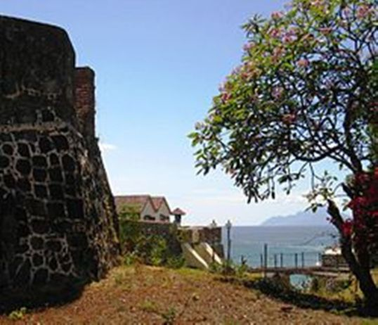 Fort Orange looking towards Saba