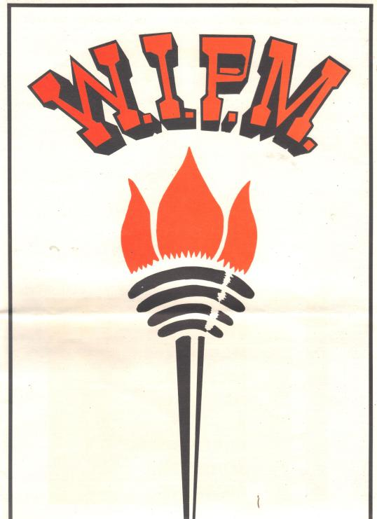 Logo of W.I.P.M. (Windward Islands People's Movement