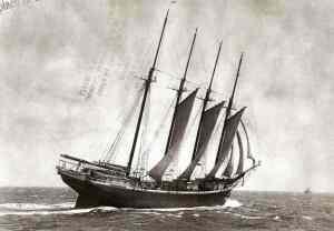 Capt. Lockland Heyliger's schooner
