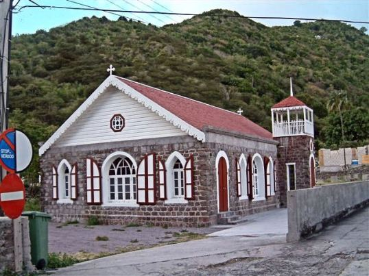 The Modern Wesleyan Church - Saba, The Bottom
