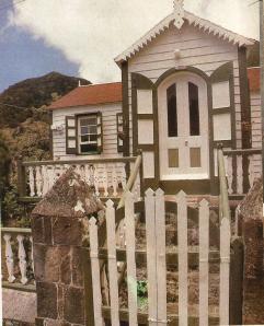 A typical Saba House.