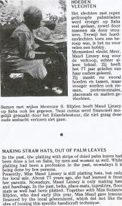 Artist Miss Maude Linzey known as Aunt Maude