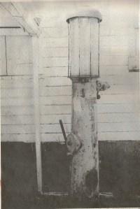 Cyrus Wathey's gasoline pump