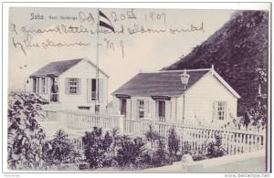 1907 - Postcard Saba