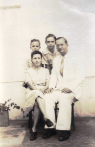 Administrator Max Huith wife Cynthia Labega 1948,