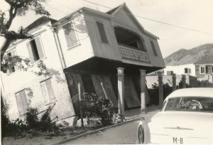 Hurricane Donna damage at Grand Case SXM 3