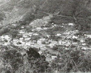 A view of Windwarside nineteen seventies