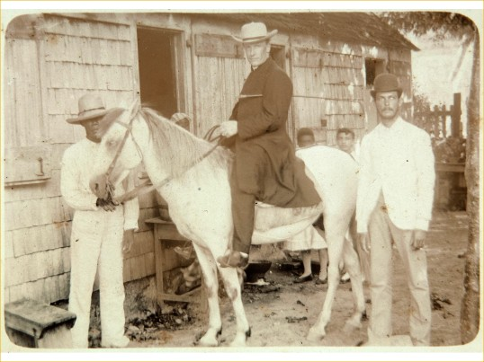 1890-1910 Man on Horse - Tropenmuseum