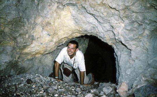 135 - Saba-1956-58 - Sulphur mine - Police officer Kooistra-01