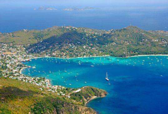 Admirality Bay, Port Elizabet, Bequia. Grenadines.