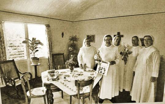 Nuns on Saba