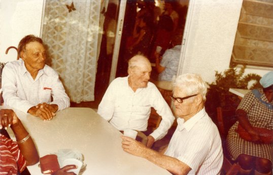Garnet Hughes, George Hassell and Ralph Hasssell