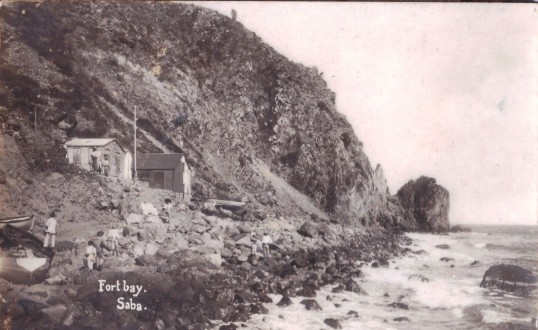 Fort Bay, Saba 1915..jpeg
