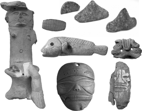 Miscellaneous-artifacts-from-the-Lesser-Antilles-exhibiting-Taino-stylistic-influence