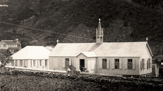 1910 Church - former school - towards Crispeen - Tropenmuseum