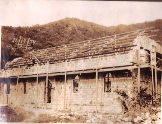 Progress report construction R.C.Church 1934