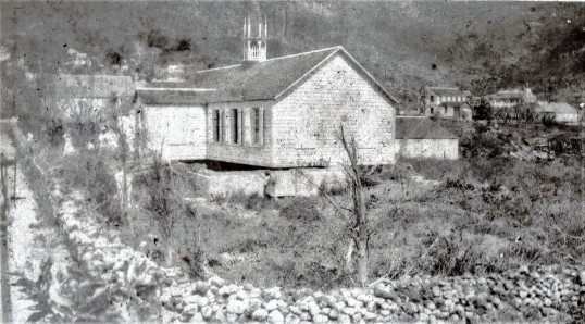 R.C. church after 1932 cyclone.