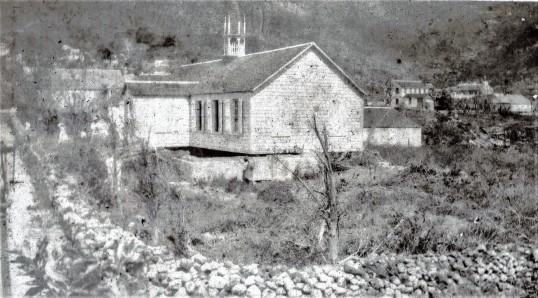 R.C. church after 1932 cyclone.