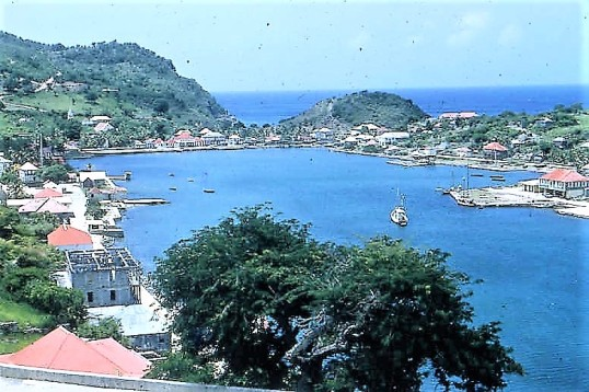 Gustavia back in the fifties.